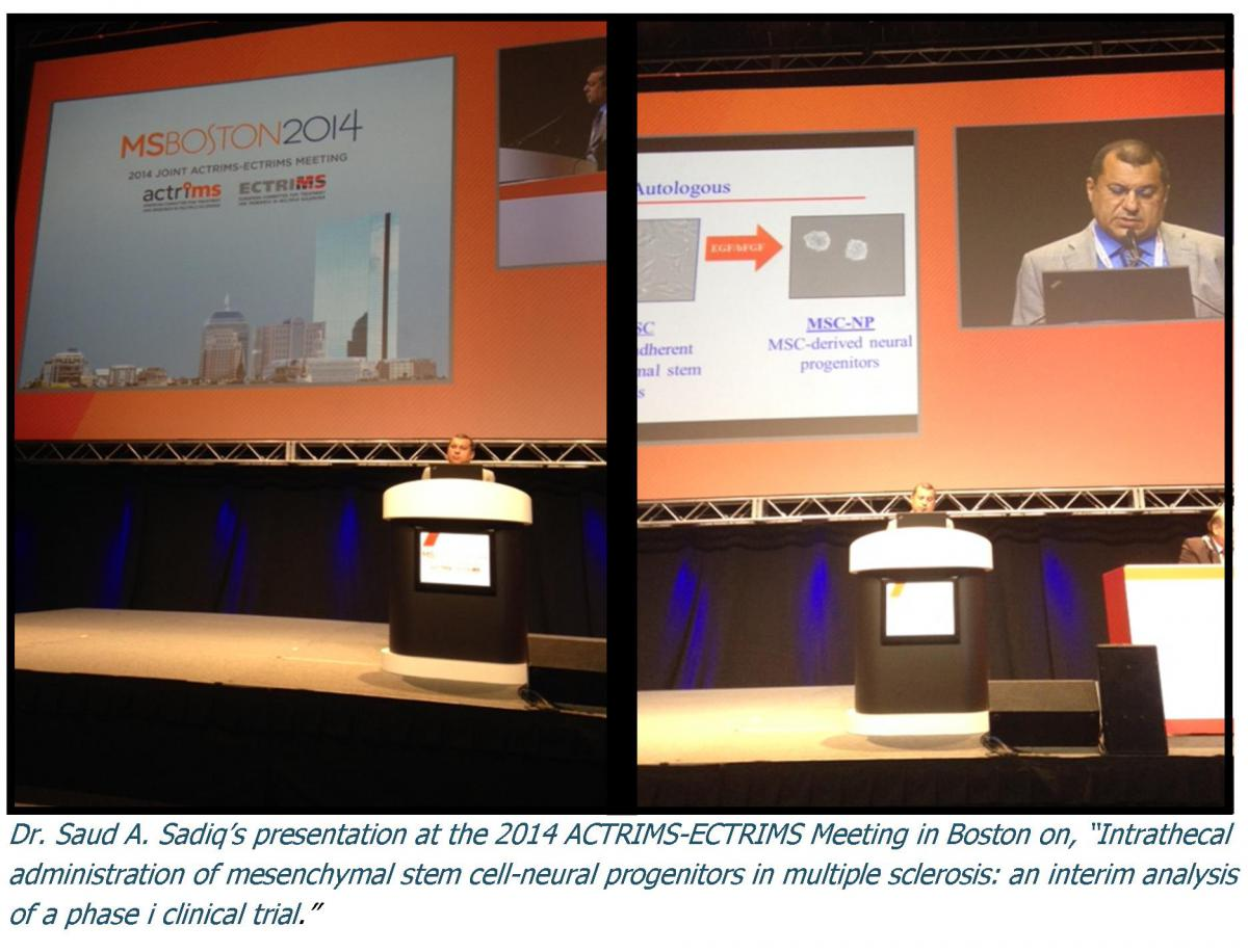 ACTRIMS-ECTRIMS 2014 Boston